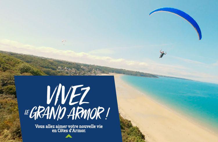 Vivez le Grand Armor - Vous allez aimer votre nouvelle vie en Côtes d'Armor