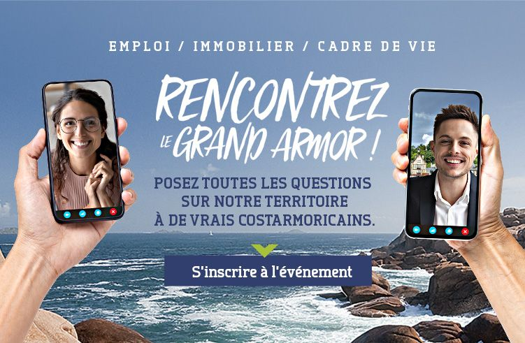 Rencontrez le Grand Armor - Posez toutes vos questions sur notre territoire à de vrais costarmoricains