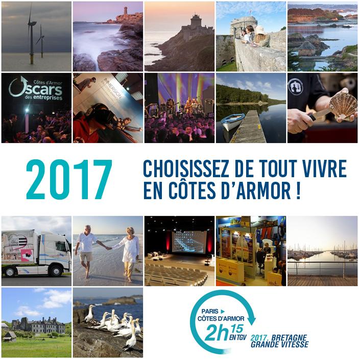 2017, Choisissez de tout vivre en Côtes d'Armor !