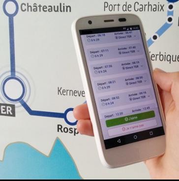 Consultation du public sur les horaires des TER TGV 2017 en Bretagne