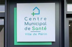 Le Centre municipal de Santé de Plérin en Côtes d'Armor