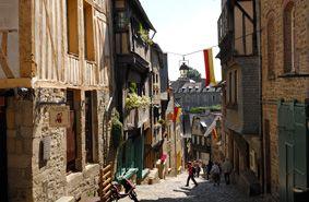Balade au centre-ville de Dinan