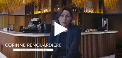 Corinne et Hugo Renouardière – Hôtel de Diane aux Sables d'Or