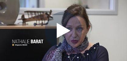 Nathalie Barat - Dirigeante d'Obsam à Quévert