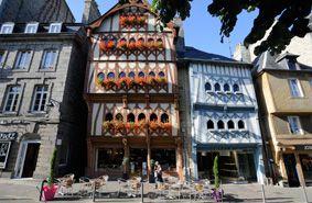Centre ville de Guingamp, cité de caractère