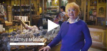 Martine Manou - la biscuiterie Menou à Plougonver