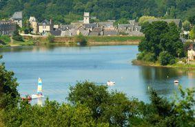 Jugon-les-Lacs, la ville verte