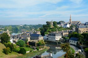 La Roche-Derrien, sur les bord du Jaudy