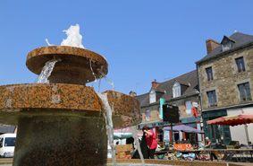 Merdrignac, village étapes porte du centre Bretagne