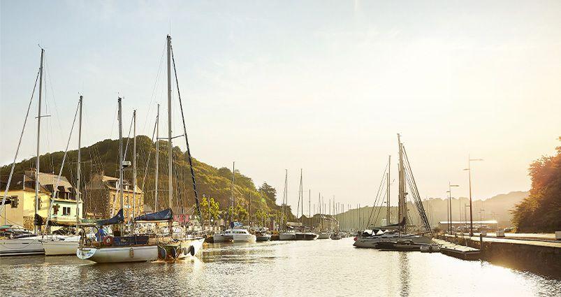 Le port du Légué à Saint-Brieuc