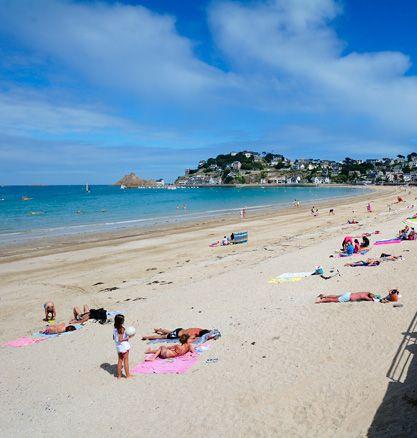 Les plages à proximité de Saint-Brieuc