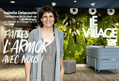Isabelle Delacourte, Littomatique - Faites l'Armor avec nous