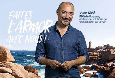 Yvan Ridé Voxpass – Faites l'Armor avec nous