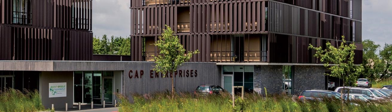 Cap Entreprises Pépinière d'entreprises de Saint-Brieuc Agglomération
