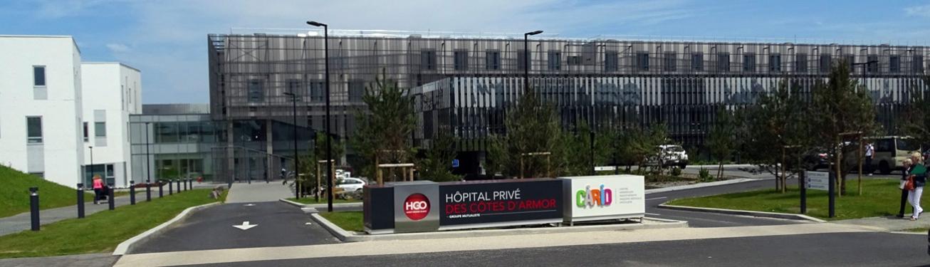 Le nouvel hôpital privé des Côtes d'Armor