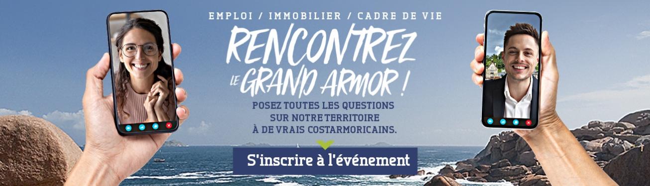 Rencontrer le Grand Armor - Opération Tout vivre en Côtes d'Armor 2020