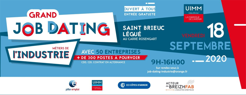 Grand Job Dating industrie Côtes d'Armor