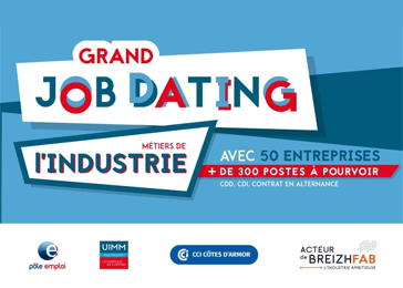 Job Dating Industrie en Côtes d'Armor