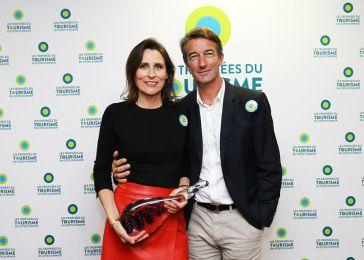 Corinne et Hugo Renouardière de l'Hôtel*** Restaurant Le Diane à Fréhel, remportent le Trophée Coup de cœur du jury