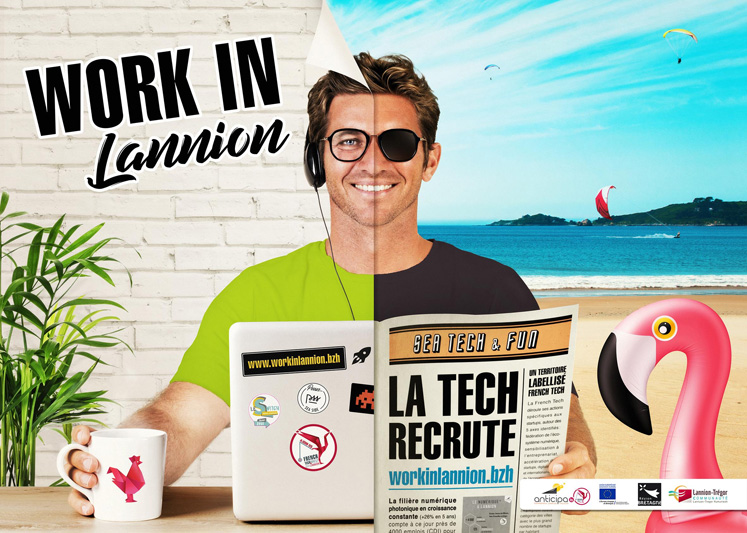 Work In Lannion, la Tech lannionaise recrute